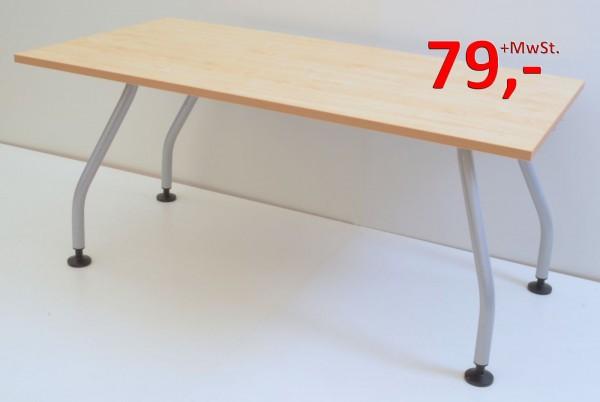 Schreibtisch - 150 cm - Ahorn - Werndl