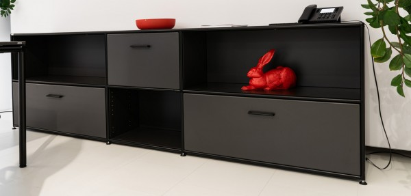 Bosse - Sideboard - 2 OH - anthrazit