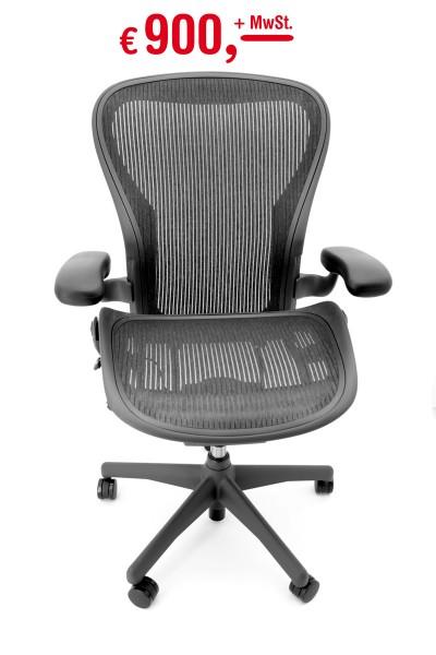 Herman Miller - Aeron Chair - Standard - Rückneigung der Rückenlehne ohne verstellbare Begrenzung