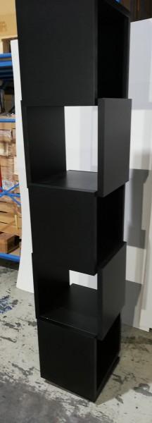 CELIA Drehregal - schwarz - drehbar - neu - Tema