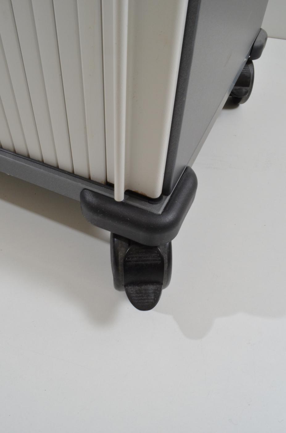 Rollcaddy Moby Weiß Anthrazit Steelcase Büromöbel Outletde