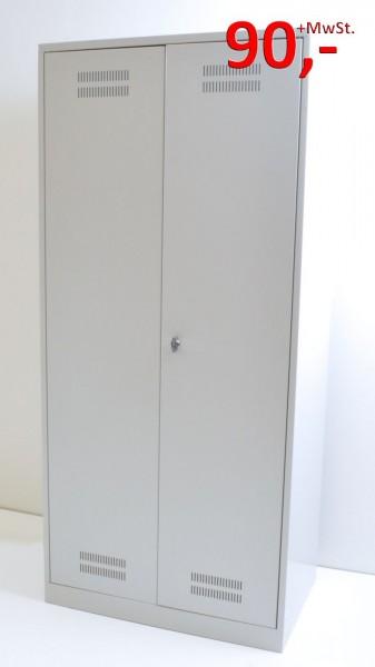 Spind / Garderobenschrank - lichtgrau - Kessler