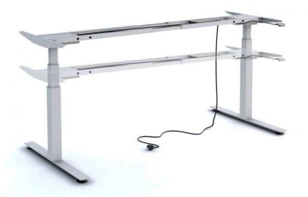 Untergestell 160 cm, elektrisch höhenverstellbar - Heyne-Ergo-Aktiv - silber