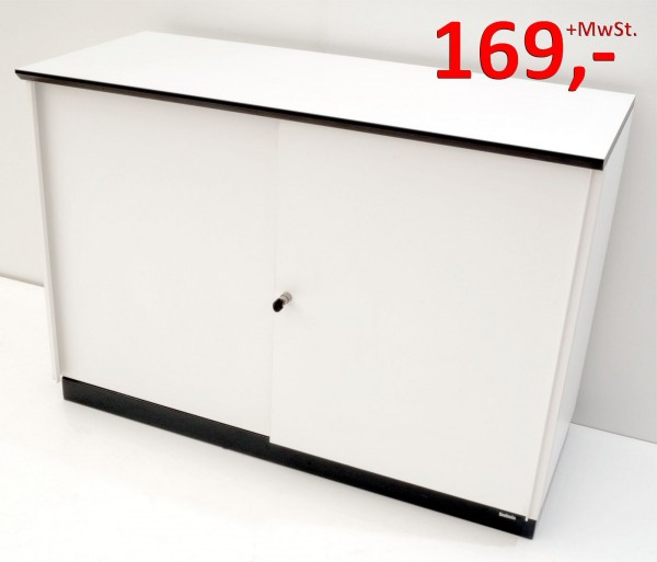 Sideboard - 2 OH - weiß - Svoboda