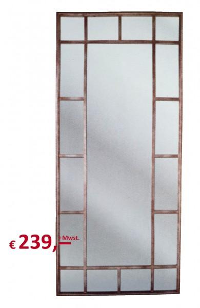 """Kare Design - Spiegel - Rahmen Eisen pulverbeschichtet - """"Window Iron"""""""