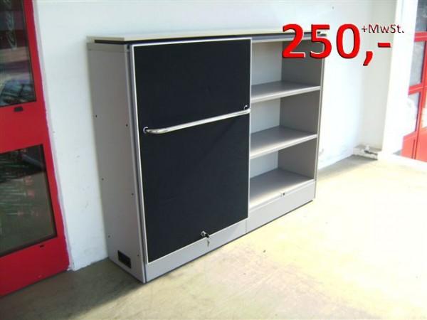 Sideboard / Schiebetürenschrank - 3 OH - mausgrau - Vitra